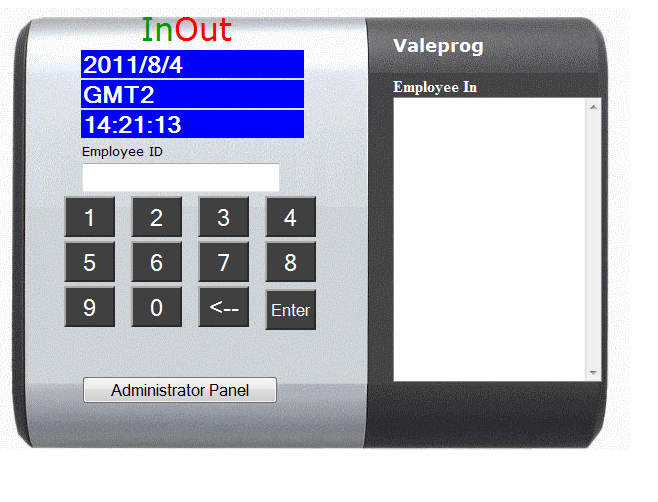 InOut Attendance - Time and attendance - InOut provides companies with an easy to use employee time and attendance.